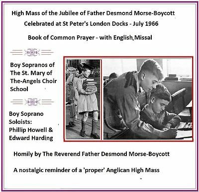 Boy Sopranos of St. Mary-of-the-Angels Song Choir - Morse-Boycott - Jubilee Mass