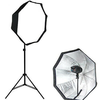 Brand NEW Photo studio strobe Flash light 80cm  Octagonal softbox umbrella