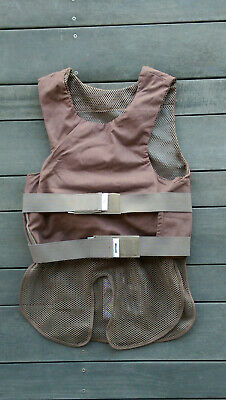 SAFARILAND CONCEALABLE Body Armor Carrier * 36 Short * Coyote Tan Military