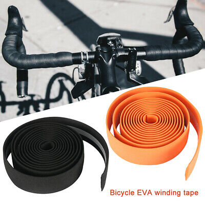 2PCS Bike Cycling Road Bike Sport Bicycle Cork Handlebar Rubber Tape Wrap+2 Bar