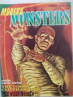 Modern Monsters No 3 -  August 1966 - Very Good Condition