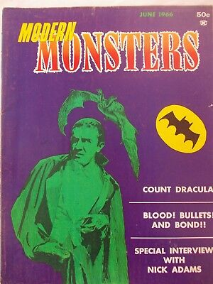 Modern Monsters No 2 -  June 1966 - Great Condition