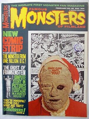 FAMOUS MONSTERS OF FILMLAND No 48 - FEB 1968 - WARREN MAGAZINE - EXCELLENT