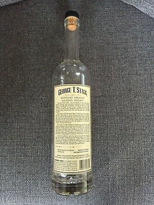 George T Stagg Kentucky Straight Bourbon Whiskey Barrel Proof empty bottle