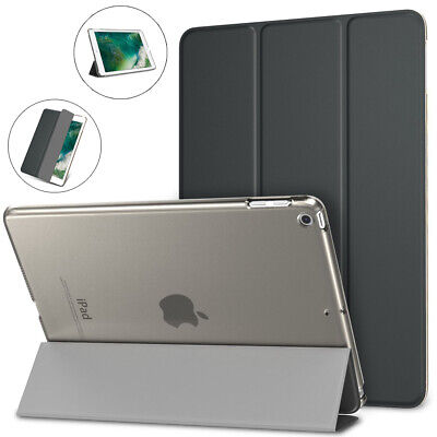 "For Apple iPad 9.7"" 2018/2017 Ultra Slim Leather Case Magnetic Smart Cover Stand"