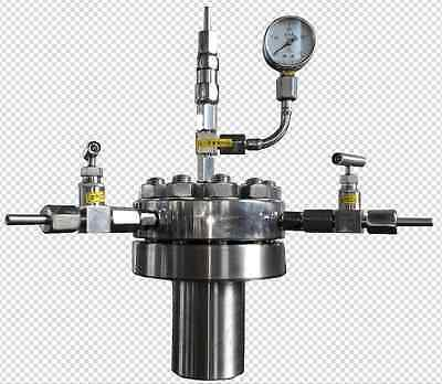 High pressure Hydrothermal Autoclave Reactor 500ml 380℃ 22Mpa customizable NA