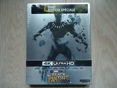 Black Panther Blu-ray + 4K Ultra HD Steelbook Fnac Edition Spéciale NEUF SCELLE