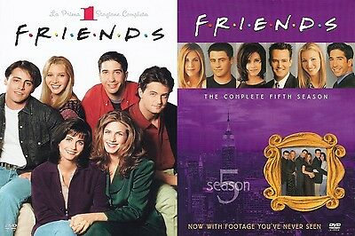 Friends - SERIE COMPLETA (10 stagioni (3+7)