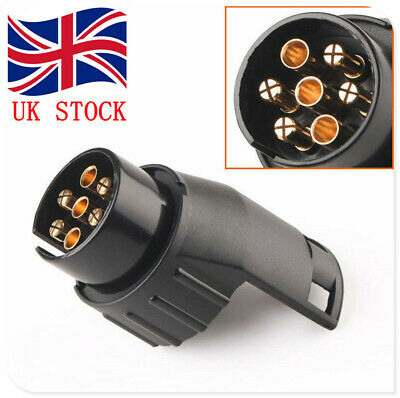 7 pin to 13pin Trailer Truck Caravan Towbar Towing Socket Plug Adapter Converter