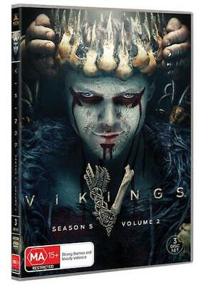 VIKINGS : Season 5 Part 2 : NEW DVD