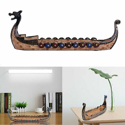 Dragon Boat Pattern Incense Burner Cones Stick Smoke Backflow Incense Holder