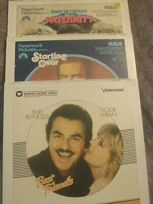 Vintage Video Disc - Lot of 3 - Deliverence, Sharky's Machine, The Man Who Women