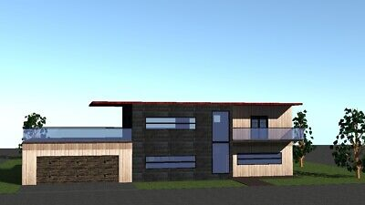 Two floor house plans (100-210 sq meters - 1076-2260 sq feet)