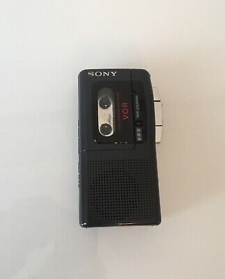 Musical Instruments & Gear Sony Voice Microcassette Recorder M-570v Clear Voice Plus & Vor Tape Included