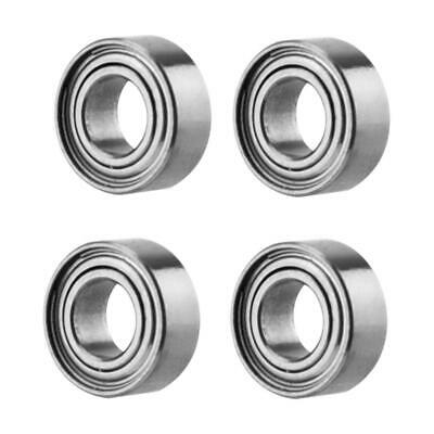 4pcs Rust Resistant Universal Metal Ball Bearing RC Accessory for RC Car Truck