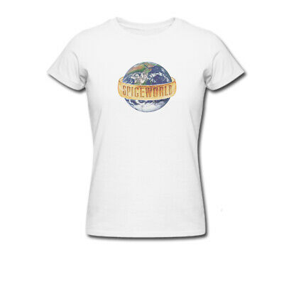 Spice Girls Globe T-Shirt, Spice World UK 2019 Tour; Concert (Shipped in 24hrs)