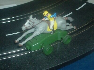"Scalextridc C0128  Horse Racing Pferd und Jockey ""Fairweather Lady"""