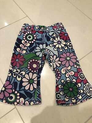 BABY BODEN Girls Cord Retro Trousers 12-18 Months