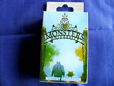 Disney * MONSTERS UNIVERSITY * New & Sealed 2-Pin Mystery Box