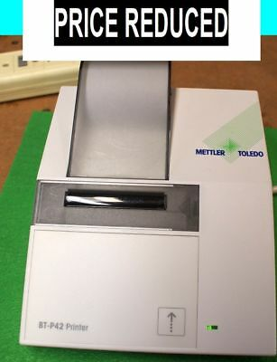 METTLER TOLEDO BT-P42 WIRELESS BLUETOOTH LAB PRINTER jt NEW