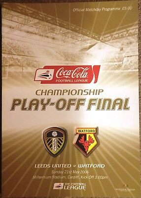 LEEDS UNITED v WATFORD. 2006 CHAMPIONSHIP PLAY-OFF FINAL