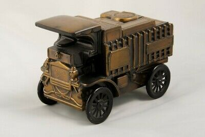 Vintage Banthrico Metal Bank 1906 Mack Truck coin bank