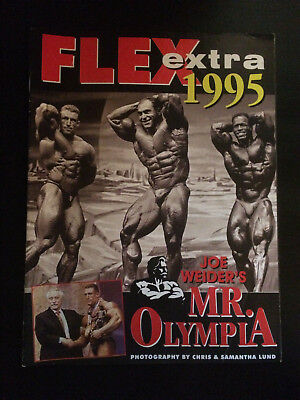 FLEX Joe Weiders BODY BUILDING Magazine EXTRA Feature MR OLYMPIA 1995 EXCELLENT