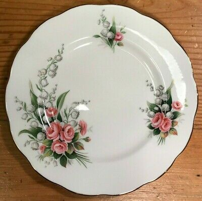 Royal Albert Dessert Plate ~ LILY OF THE VALLEY ~  c1945+
