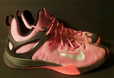 detailed look 07945 fcf01 Mens Size 11 Nike Zoom Hyperrev Pink Breast Cancer Basketball Shoes 705370- 606