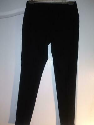 9bf86f38c029a4 Intro Love The Fit Women's Ultimate Black Pull On Pants Straight Stretch  Size PM