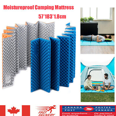 Foldable Outdoor Hiking Camping Mats Moisture Proof Camp Blanket Pad Mattress