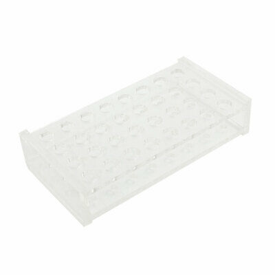 Clear Plastic 32 Positions 0.2ml Centrifuge Tube Holder Stand Rack