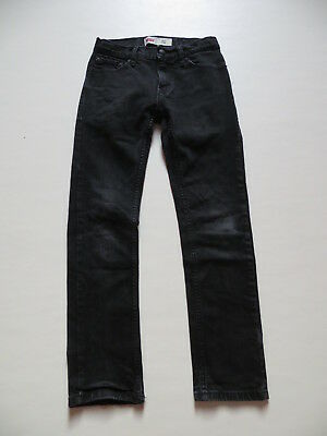 Levi's KIDS 511 Jeans Hose Gr. 12, W 26 /L 26, schwarz, Slim Fit Stretch Denim !