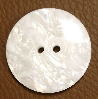 40 Ligne / 25 MM Marble Effect Button Pack Of 6