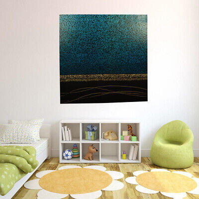 Abstract Hand Painted Art Canvas Oil Painting Wall Modern Home Decor - Framed