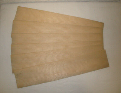 Placage ERABLE SYCOMORE 4/10 mm 14 x 50 cm Lot de 6 Bois Marqueterie Rénovation