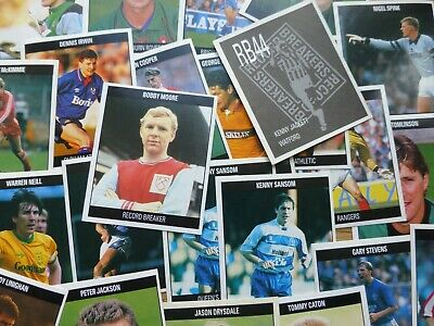 The Orbis Football Album Stickers (UK - 1990) - Buy 2+ and get FREE UK postage