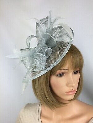 c893bfa8295d0 Very Pale Blue fascinator Wedding Occasion Hatinator Mother Of The Bride  Races