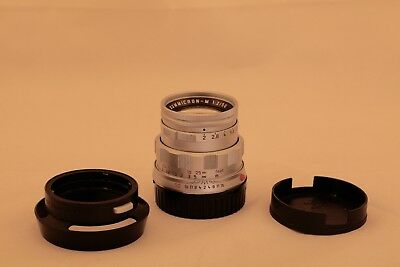 Leica Summicron-M 50mm F/2.0 50 Jahre Silver Chrome Special Edition 50 years