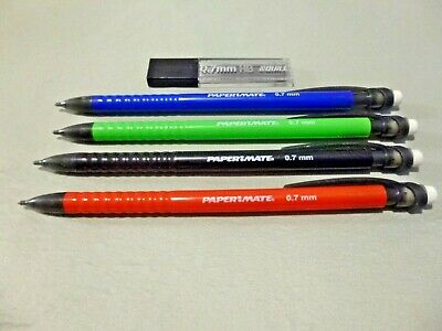 VINTAGE PAPERMATE ADVANCER PENCIL 0.7MM with extra Lead refills