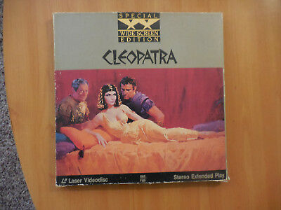 Cleopatra laser disc Special Wide Screen Edition