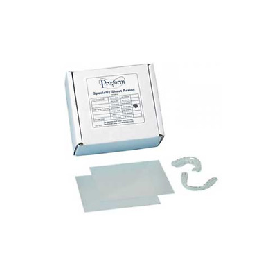 """Keystone 9614816 ProForm Retainer Material Super Clear 5"""" x 5"""" .030"""" 50/Bx"""
