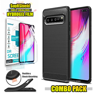 For Samsung Galaxy S10 5G S10E S10+ Plus Hybrid Anti Knock Heavy Duty Case Cover