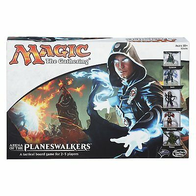 Hasbro Toys MAGIC THE GATHERING - PLANESWALKERS Roleplay rpg Board Game COMPLETE