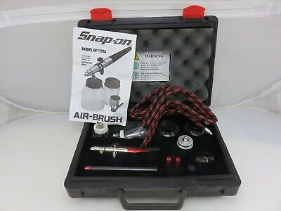 Snap-On BF175TA Professional Airbrush Set UNUSED Open Box + Paasche Extras