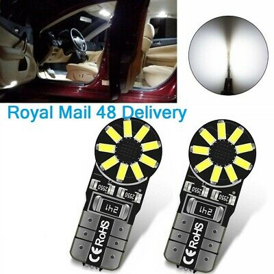 T10 W5W 194 168 LED SMD Lights Interior Wedge Bulbs CANBUS Dome Door Error Free