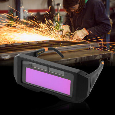 Auto Solar Darkening LCD Mig Mask Welding Goggles Safety Eye Protective Glasses