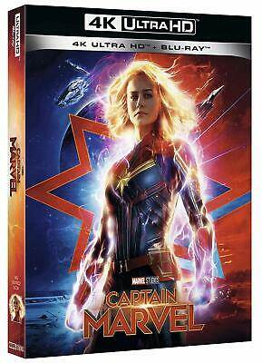 4K CAPTAIN MARVEL (4K Ultra HD + Blu-Ray) Samuel L. Jackson, Lee Pace, Jude Law