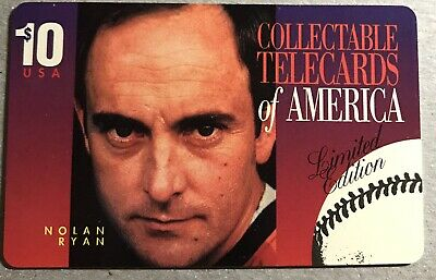1994 Nolan Ryan Phone Card LE
