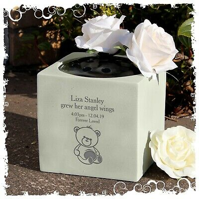 Baby personalised Memorial Item Teddy Bear design